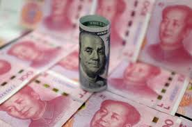 Dollar tenses for yuan fix as China eases policy