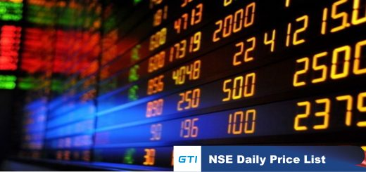 NSE Price List Archives - GTI Group Research